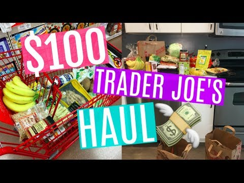 $100 Weekly Trader Joe's Haul + MEAL IDEAS!