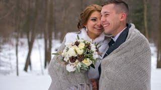 Зимняя свадьба Ильи и Дарьи(Замечательная, веселая пара, роскошная свадьба в Орехово-Зуево, в ресторане