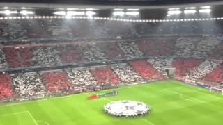 FC Bayern - FC Barcelona - die Champions League Hymne