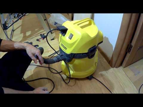 Строительный пылесос  для дома и домашней мастерской  - Керхер 3.5  (Karcher 3500)