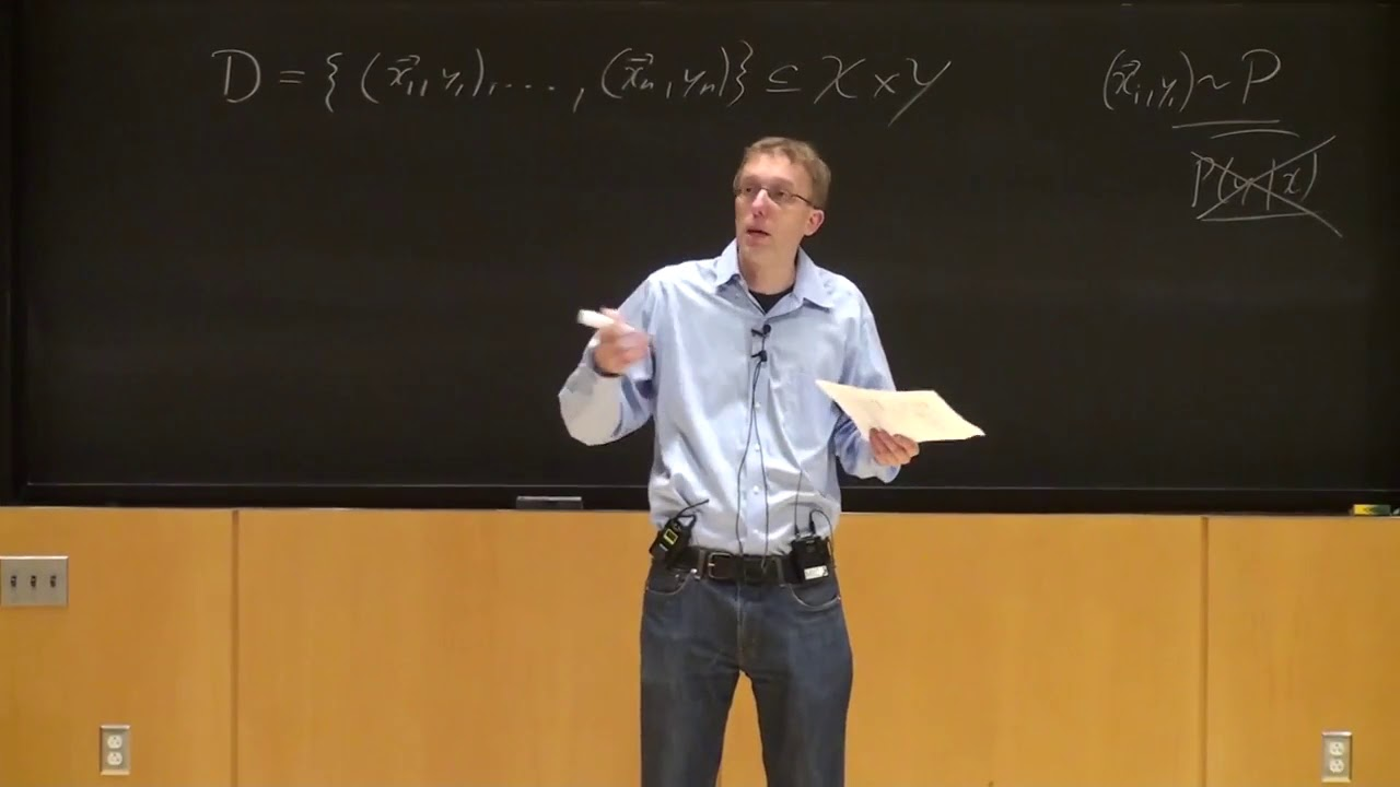 """Lecture 2 """"Supervised Learning Setup Continued"""" -Cornell CS4780 SP17"""