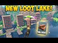 TURNING LOOT LAKE INTO A CITY! (45,000 Brick) -  Fortnite Funny Fails and WTF Moments! #279