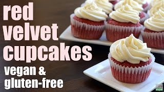 red velvet cupcakes vegan gluten free something vegan