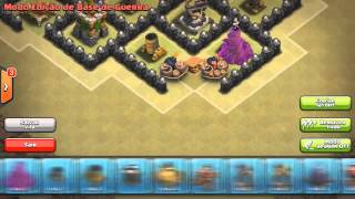 Epic Town Hall 9 War/Trophy Base - Clash Of Clans - War Base After Halloween Update!