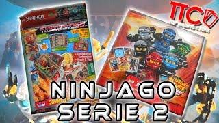 LEGO Ninjago TCG Serie 2   Starter Mappe + Display Unboxing + VERLOSUNG