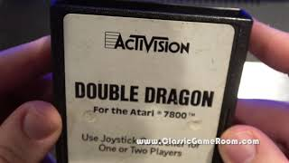 Classic Game Room - DOUBLE DRAGON review for Atari 7800