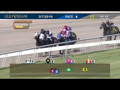 Gulfstream Park March 7, 2019 Race 4