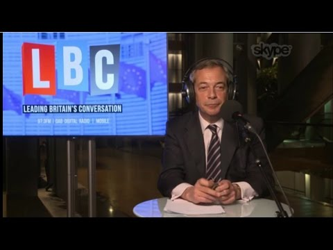 The Nigel Farage Show - Brexit - Marine Le Pen - 14/03/2017