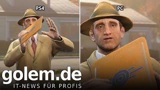 Fallout 4 - Grafikvergleich/graphics comparison (PS4 vs PC)