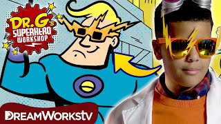 DIY Superhero Shades | DR. G'S SUPERHERO WORKSHOP
