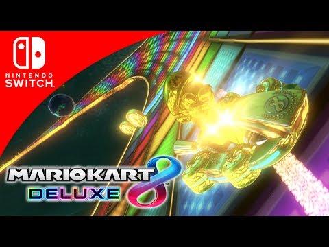 SET DORADO COMPLETO EN MARIO KART 8 DELUXE!! | GUÍA | Nintendo Switch | 8BitCR