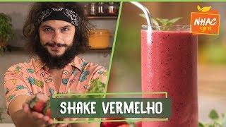 Shake Vermelho Como Fazer Bebida Com Morango Framboesa E Amora  Mohamad Hindi  Deixa Eu Provar