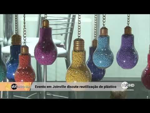 Evento em Joinville discute a reutilização de plástico