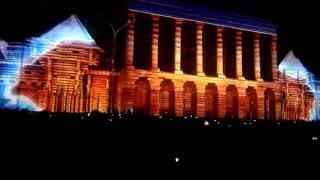 Лазерное шоу - Нижний Новгород - 12.06.2016