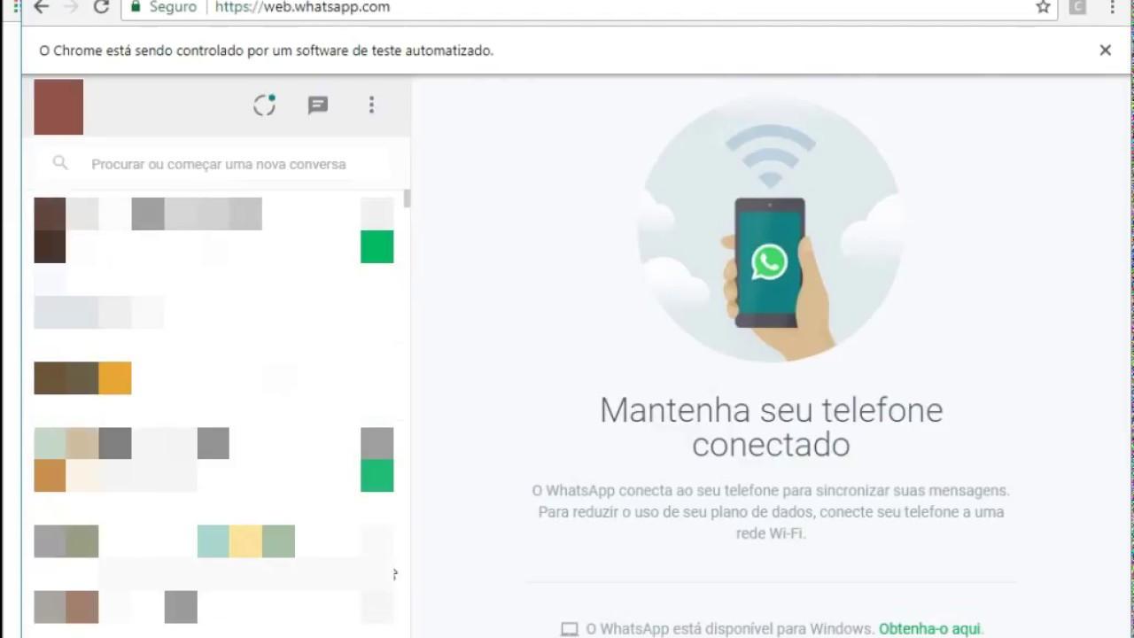 Acessando whatsapp com Python e Selenium