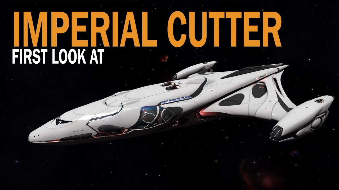 Elite: Dangerous. First look at Imperial Cutter. Ships 1.5 Update ...