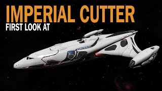 Elite: Dangerous. First look at Imperial Cutter. Ships 1.5 Update