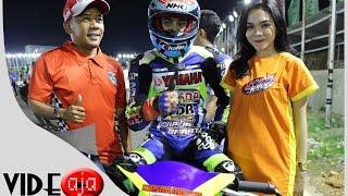 vuclip Road race 125cc 4 langkah Tune up SNR2 kejurnas Nasdem Sidrap Prix seri3 sirkuit Puncak Mario Sidrap