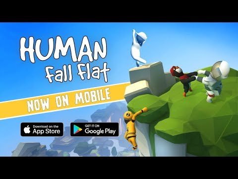 Human Fall Flat Mobile - Launch Trailer - Out Now For Android & IOS!