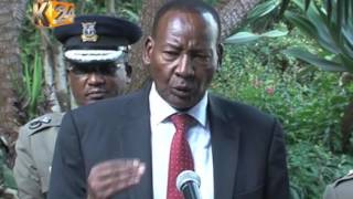 Interior CS Nkaissery wants politicians inciting violence  arrested