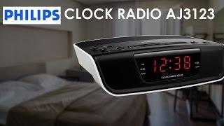 Présentation du radio-réveil philips aj3123