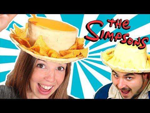 Intenté Seguir Un Tutorial de La Cocina del Pirata y ¿Lo Logré? | Sombrero de Nachos de Los Simpsons