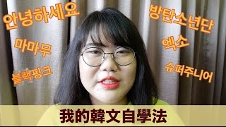 我的韓文自學法(上) / How Do I Learn Korean By Myself