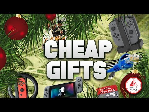 Nintendo Switch CHEAP Holiday Gift Guide for 2018!!