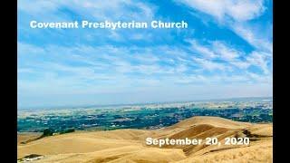 September 20, 2020 - Sunday Worship Service