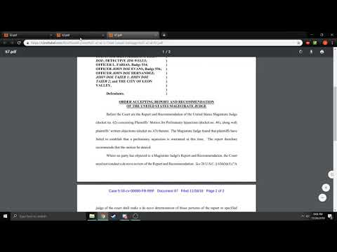Preliminary Injunction Denied Leon Valley Mp3