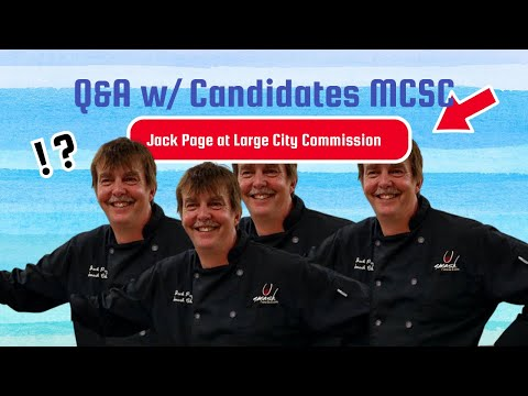 Q&A w the candidates Jack Page