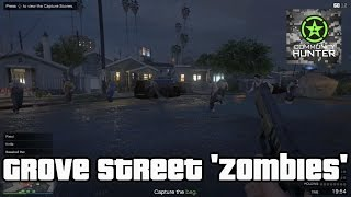 Grove Street Zombies - Grand Theft Auto V - Things to do in