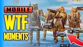 PUBG Mobile FUNNY And WTF Moments #1