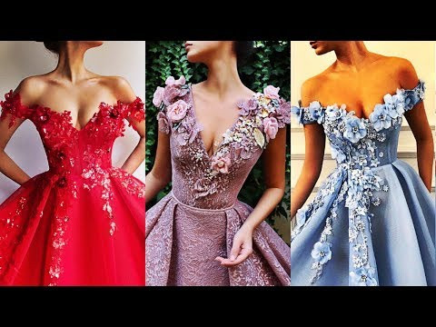 The Most Beautiful Prom & Wedding Dresses 2018