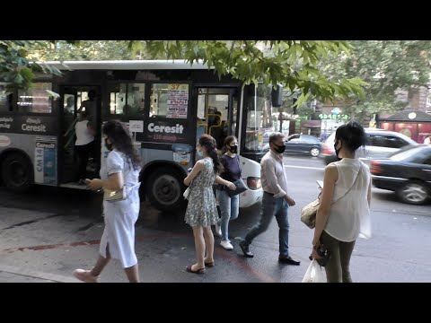 Yerevan, 21.07.20, Tu, Depi Mashtots+Tumanyan, Bak, Or 125, Video-2.