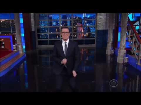 "Stephen Colbert interviews Rick Astley on the ""Rick Roll"""