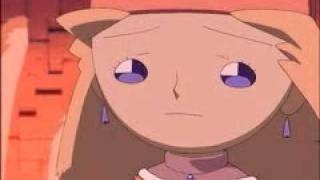 PopoloCrois Story II (PS1) - Anime Cutscene - Ending - The Flood (subtitled)