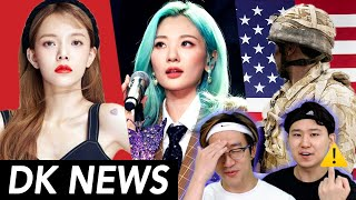Gambar cover Jimin Controversy, AOA disbands(?) / US soldiers fire fireworks at Koreans / BOL4 Beef [DK NEWS]