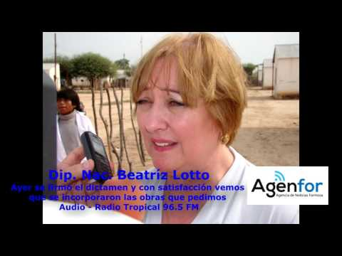 Dip. Nacional Beatríz Lotto (FPV- Formosa)