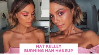 NAT KELLEY BURNING MAN / FESTIVAL MAKEUP