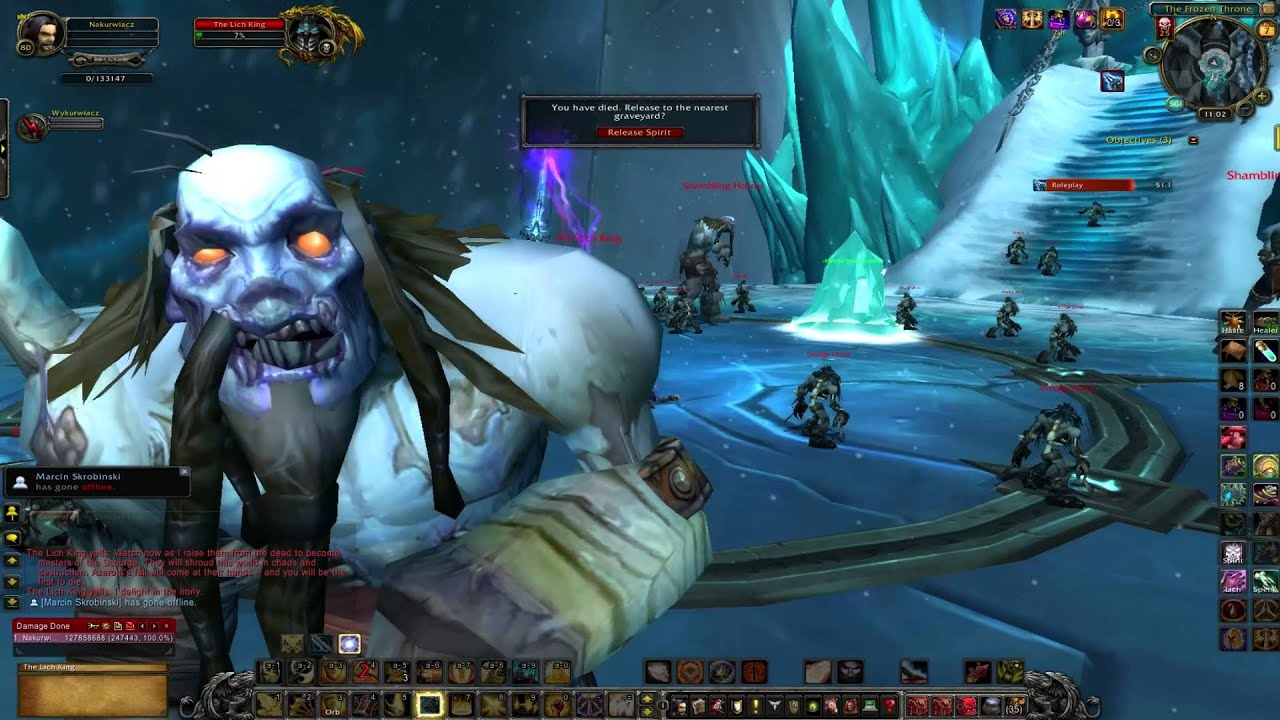 Solo Lich King 25 Heroic - Level 80 Paladin