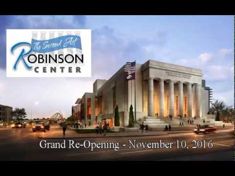 Robinson Center Second Act Ribbon Cutting And Grand Re-Opening - November 10, 2016