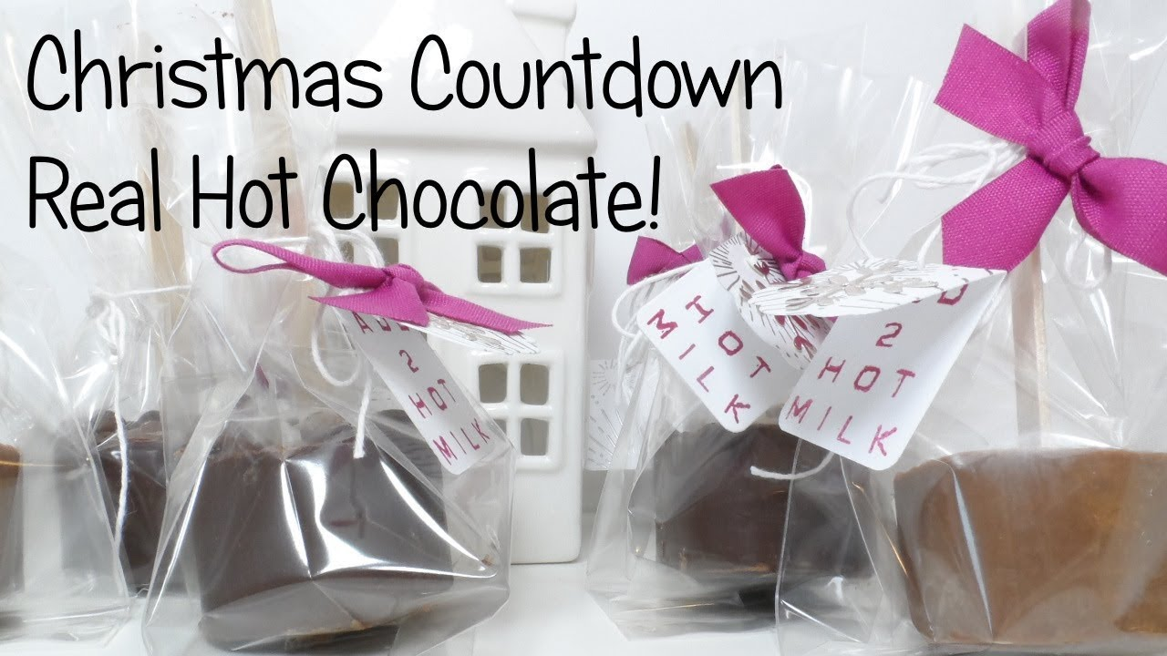 Christmas Countdown | Hot Chocolate Stirrers with Snowflake ...