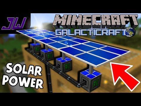 Solar Panels, Farms and Electric Machines! | Minecraft Galacticraft Mod Gameplay | Episode 2