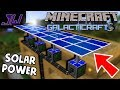 Solar Panels, Farms and Electric Machines! | Minecraft Galacticraft Mod | Episode 2