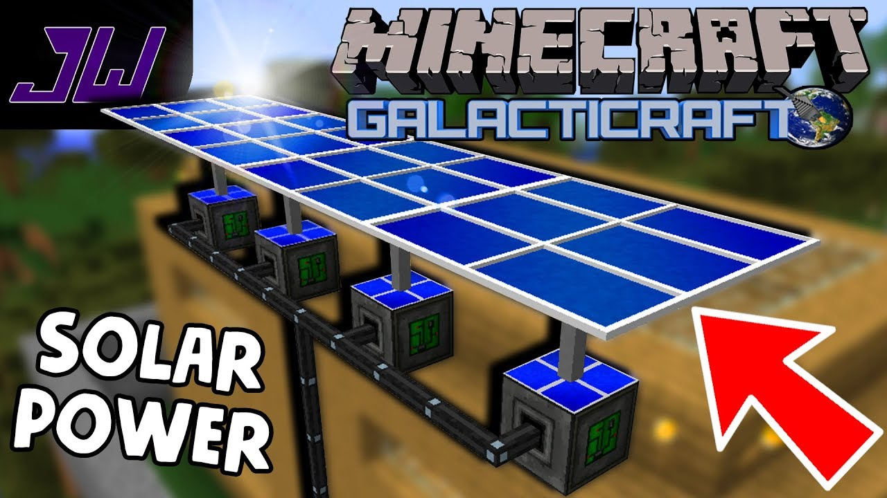 Solar Panels, Farms and Electric Machines!   Minecraft Galacticraft Mod    Episode 2