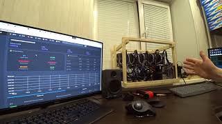 Новый алгоритм ZHash на BitcoinZ (настройка и майнинг на 5*1060)