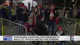 Thousands Expected For Trump Rally