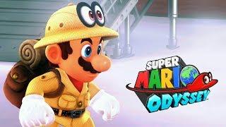SUPER MARIO ODYSSEY #5 - Nuvens da Perdição! (Nintendo Switch Gameplay)
