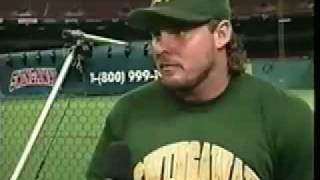 Jason Giambi Talking About SwingAway